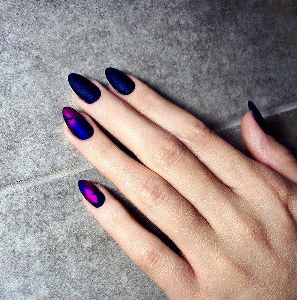 Красивый маникюр на миндалевидные ногти - дизайн, фото новинки
