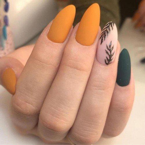Модный маникюр на миндалевидные ногти: неповторимые тренды дизайна