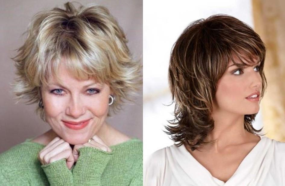 Модная стрижка после 45 лет, красивые женские прически 2020