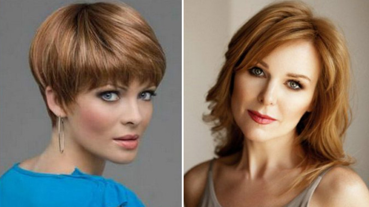 Модные стрижки волос женщинам после 45 лет 2020