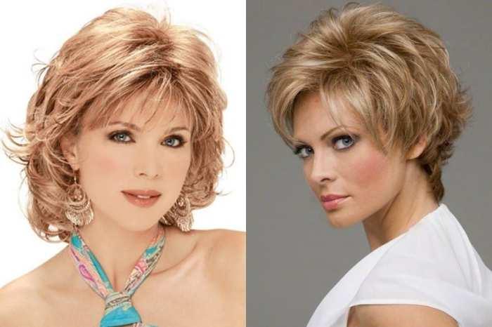 Модные стрижки волос женщинам после 45 лет, новинки причесок 2020