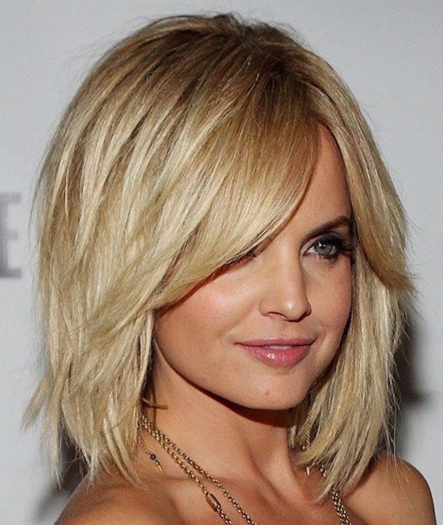 Лесенка для светлых волос