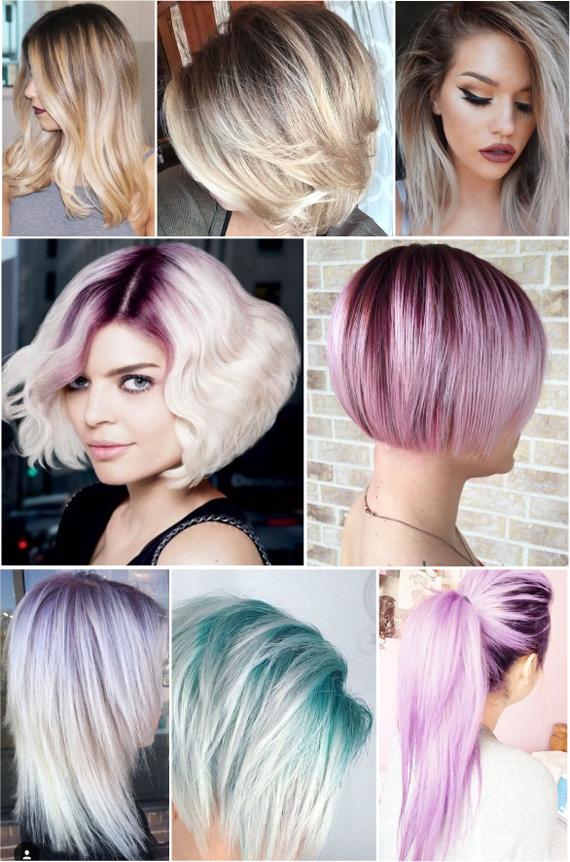 Темные корни волос. Модный цвет волос 2016