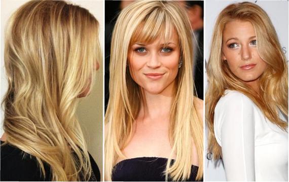 Золотой цвет волос. Медовая блондинка