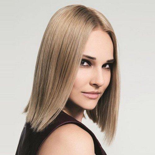 Модные женские стрижки на средние волосы. Фото МИКС