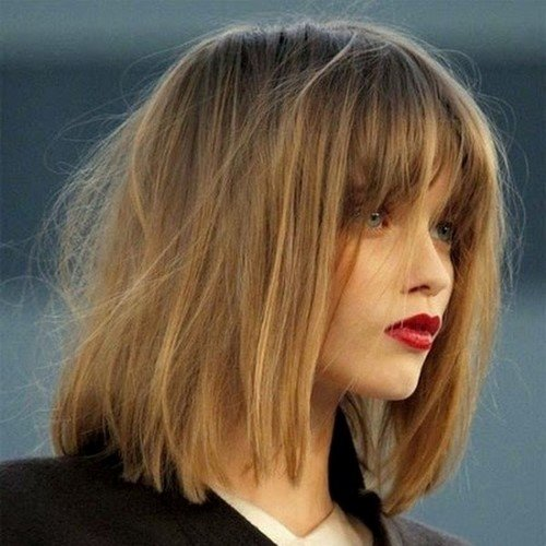 Модные женские стрижки на средние волосы. Фото для вдохновения