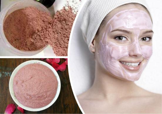 Розовая глина для лица - деликатный уход за кожей в домашних условиях