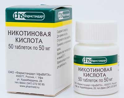 Никотиновая кислота для волос- применение