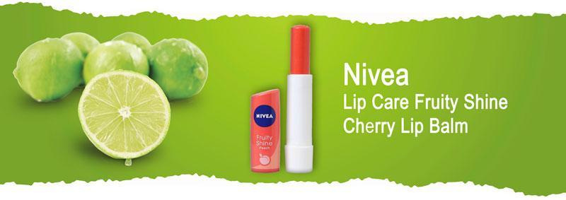 """Бальзам для губ """"Фруктовое сияние. Вишня"""" Nivea Lip Care Fruity Shine Cherry Lip Balm"""