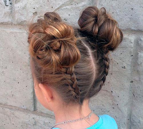 Объемные пучки из голландских кос
