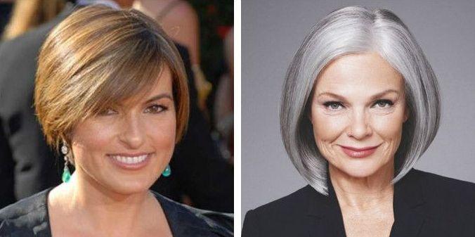 Очень красивые стрижки женщинам за 50 лет 2020