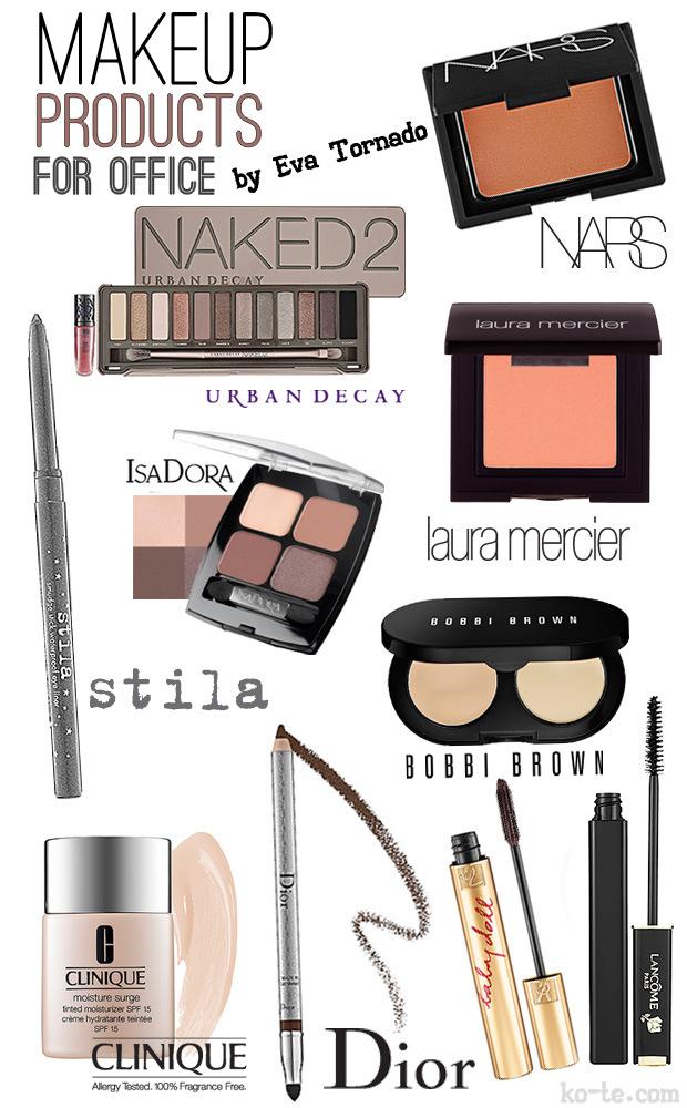 Продукты для делового макияжа