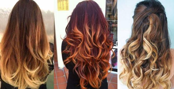 Омбре. Фото на русые, темные, светлые и пепельное волосы. Как сделать окрашивание в домашних условиях