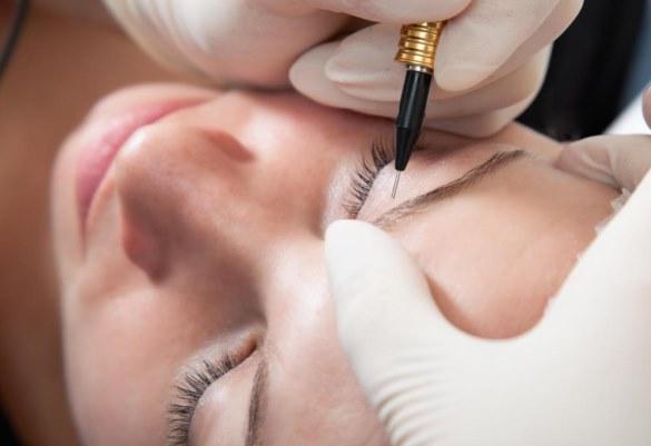 Перманентный макияж бровей - что это такое, волосковая техника, пудровые брови, фото