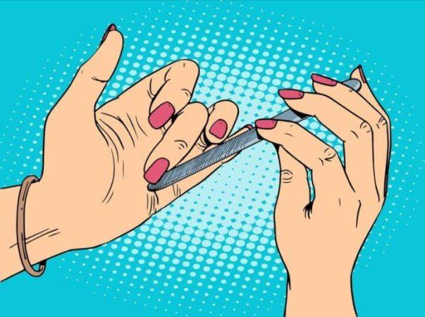Цитаты из книг об уходе за ногтями и красоте