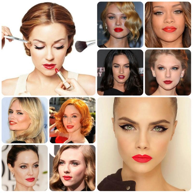 макияж пин ап