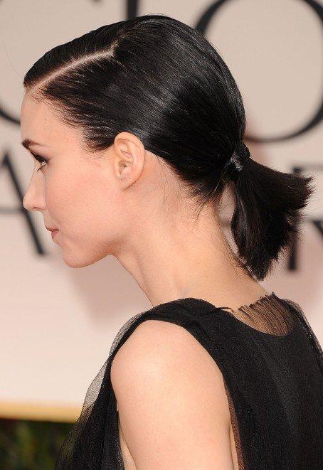 Хвостик на короткие волосы