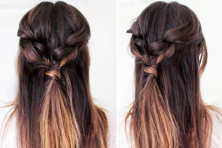 Мальвинка с косами - Прически на длинные волосы на каждый день