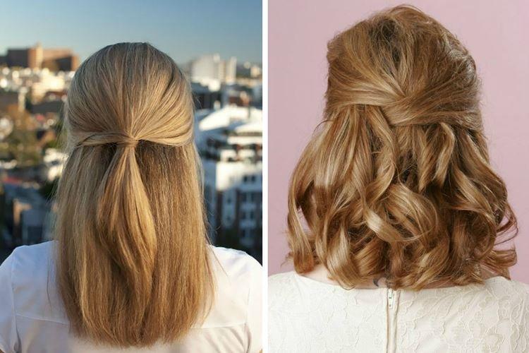 Мальвинка с локонами - Прически на каждый день на средние волосы