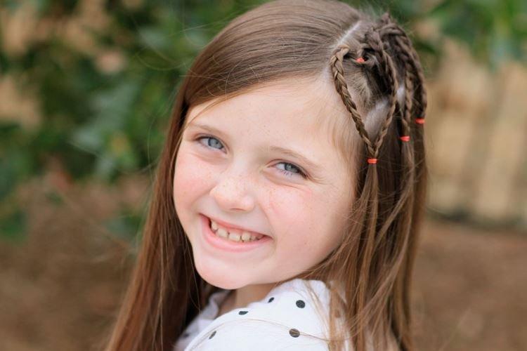 Творческая асимметрия - Прически на средние волосы для девочек