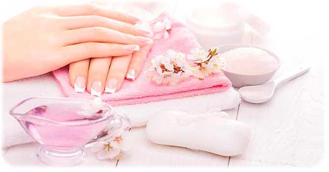 Приготовление ванночки для ногтей