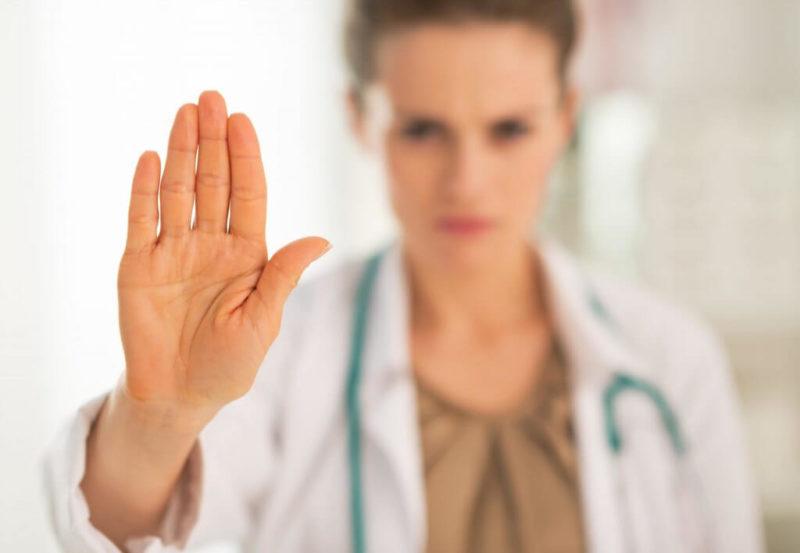 Противопоказания к проведению медицинского педикюра