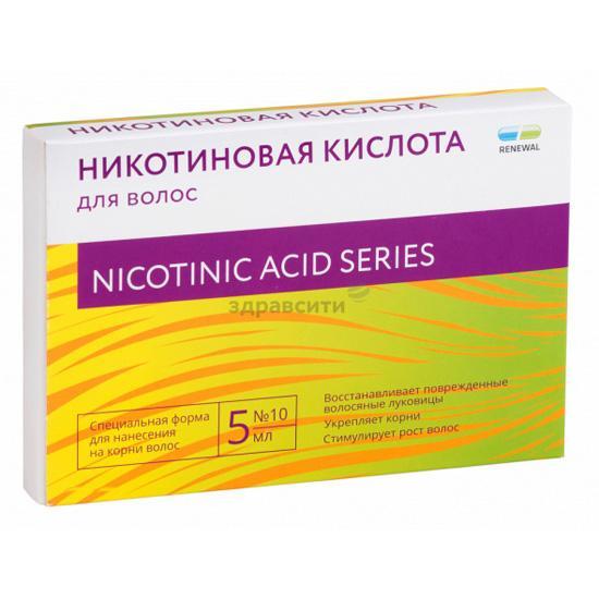Никотиновая кислота — витаминная бомба для волос