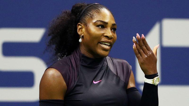 теннисистка Серена Уильямс Serena Williams говорит про ногти и маникюр