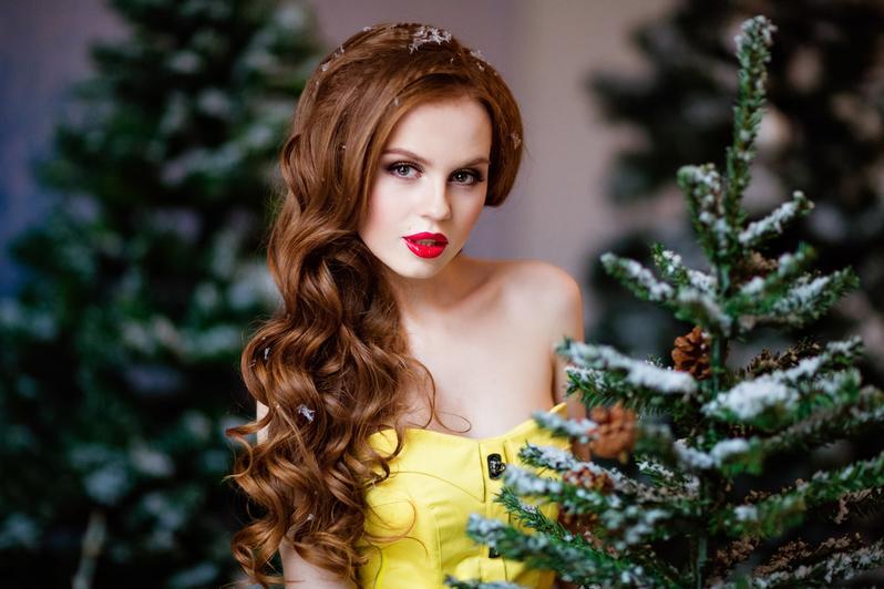 макияж для новогодней фотосессии