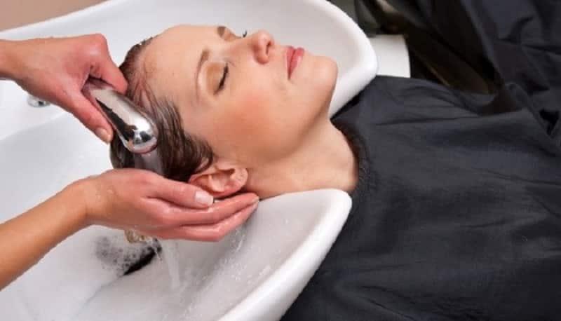 Смывание хны с волос