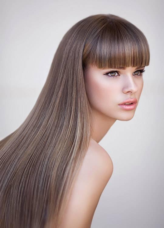 создание идеально гладких волос