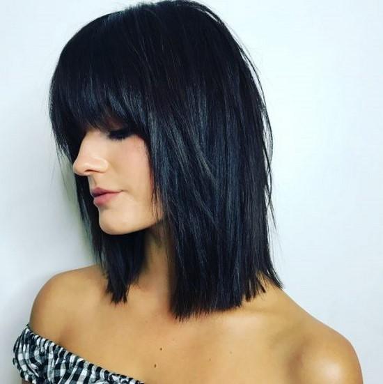 10 самых модных вариантов стрижки для средних волос 2020-2021 года