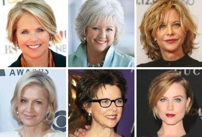 Стрижки овального лица женщине 50 лет, короткие и средние 2020