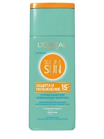 Sublime Sun Молочко для лица и тела Защита и Увлажнение