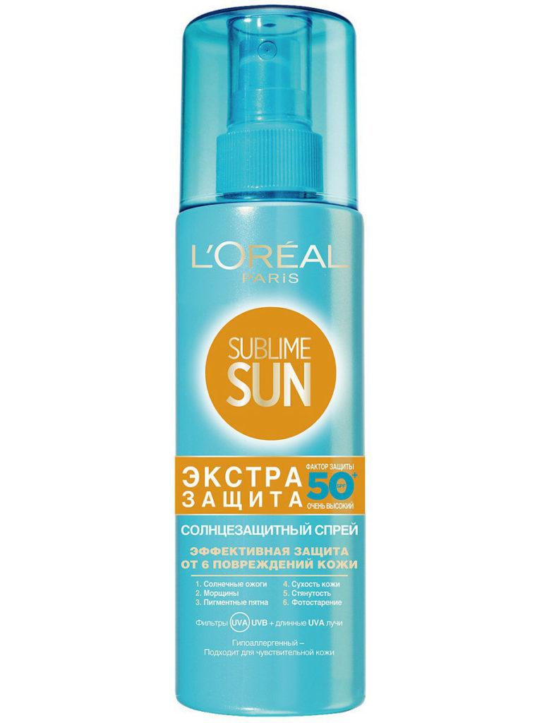 Sublime Sun солнцезащитный спрей Экстра Защита