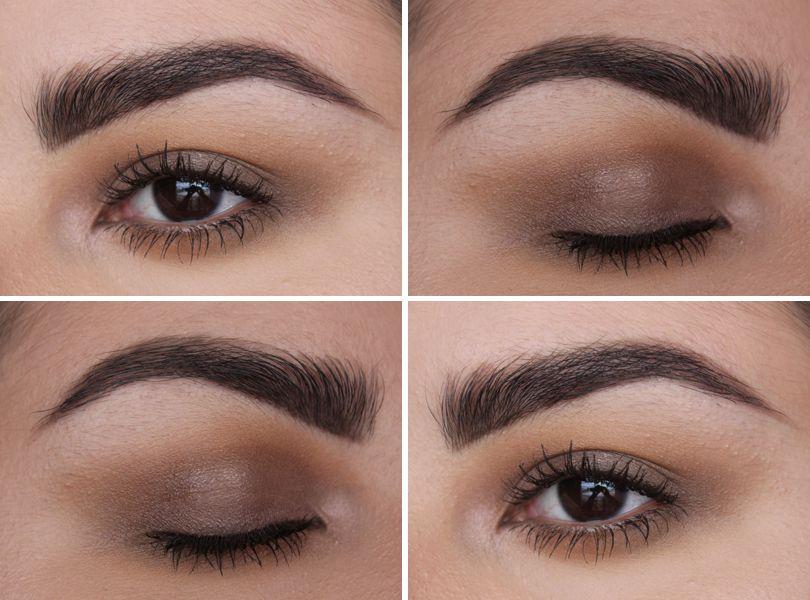Taupe eyeshadow