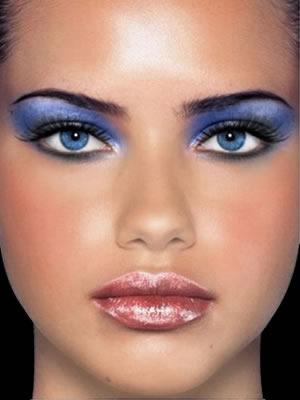 макияж для серо-голубых глаз снежная королева