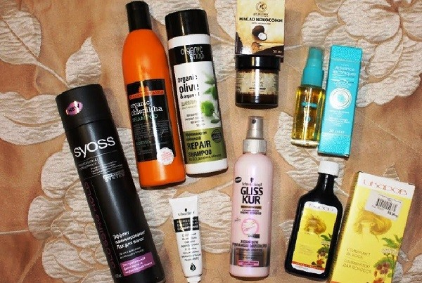 Популярные средства для ухода за волосами после химической завивки