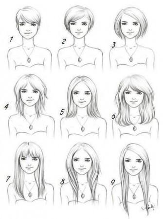 Идеальная длина волос
