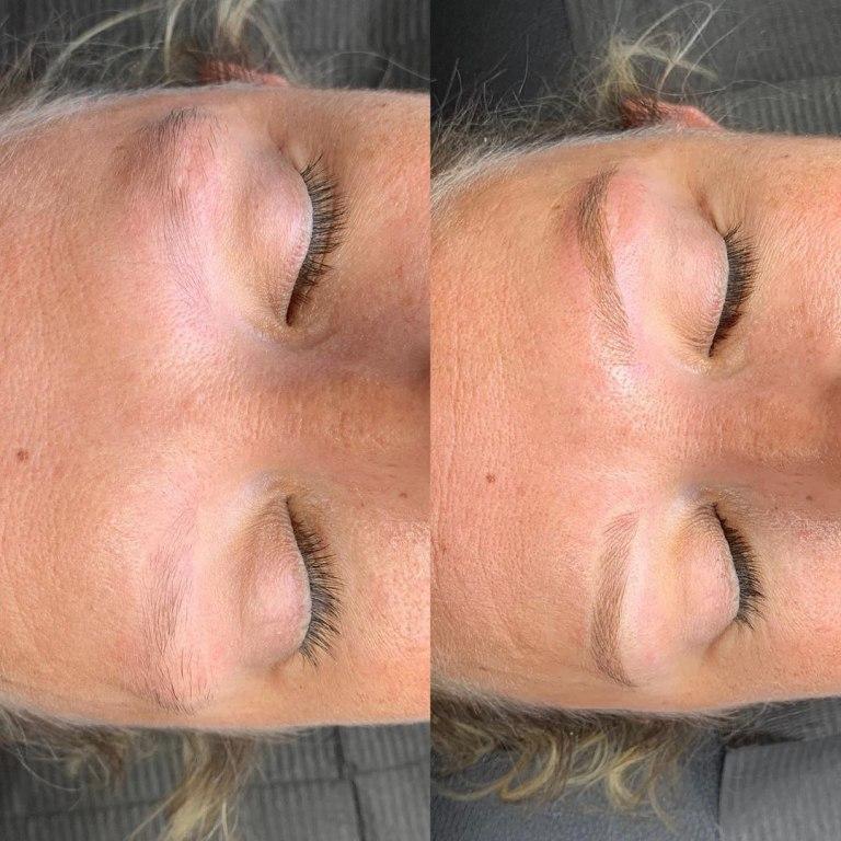 татуаж бровей волосковый метод цена