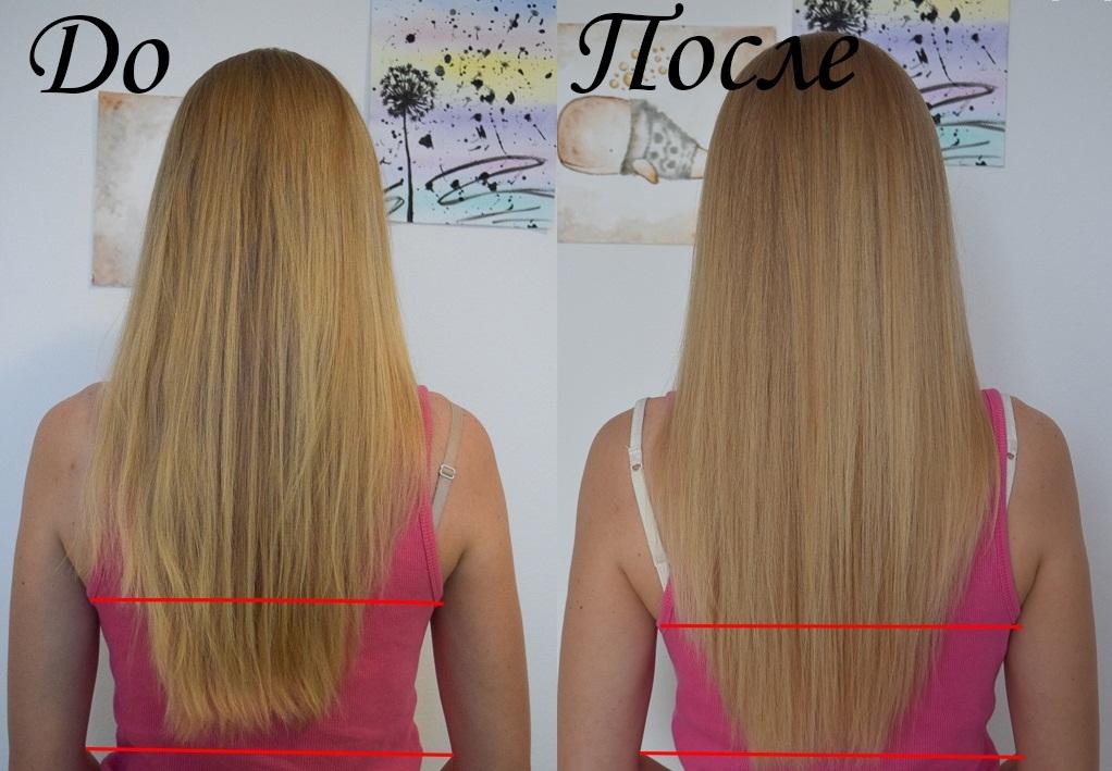 волосы до и после касторового масла фото 2