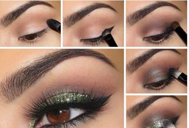 Как делать восточный макияж смотрите пошаговое фото