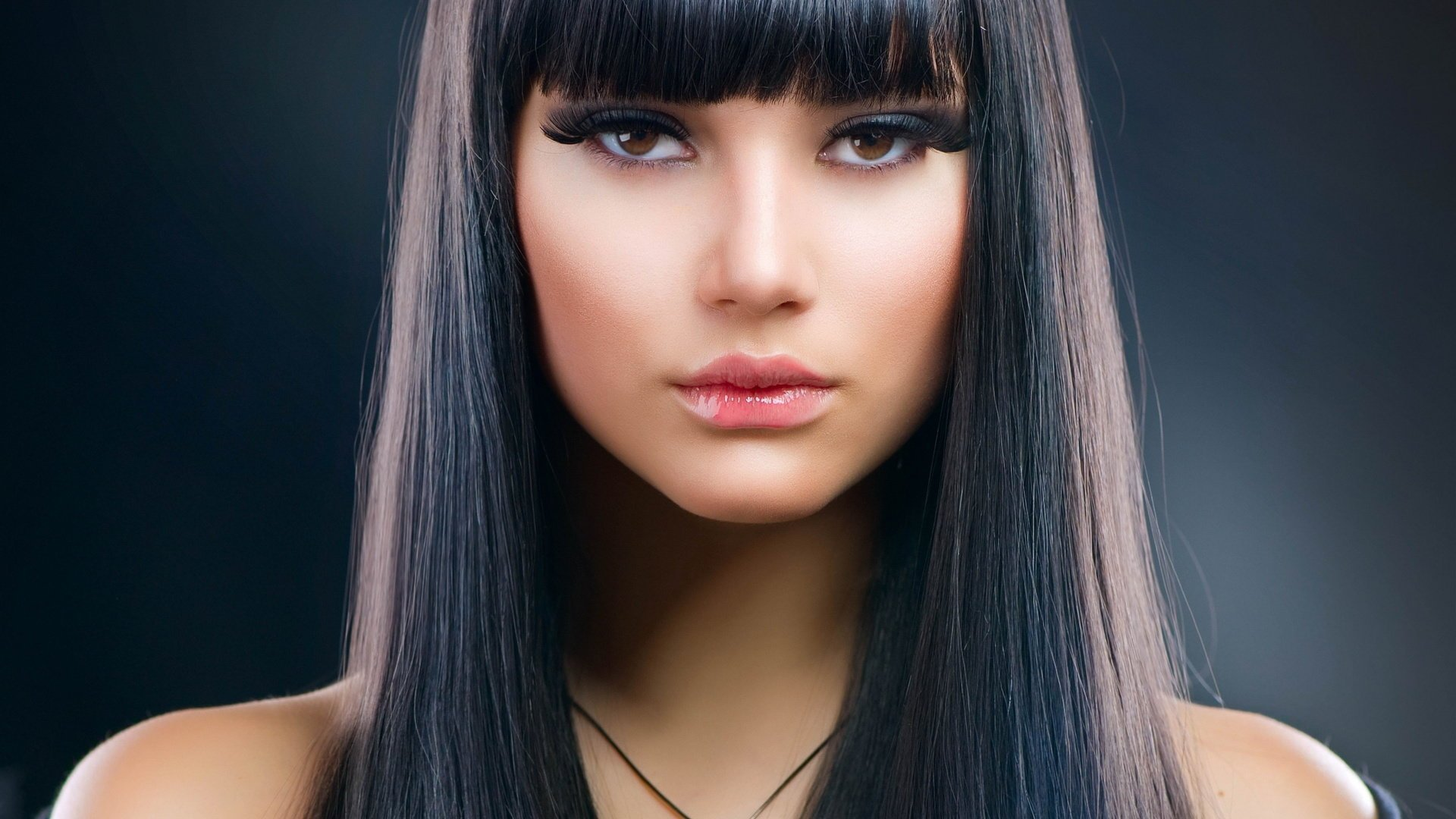 Which hair color is suitable for brown eyes55