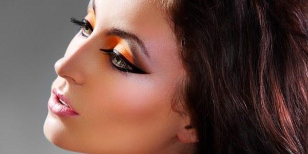 Яркий арабский макияж